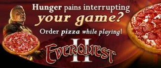 Everquest II Pizza-Service